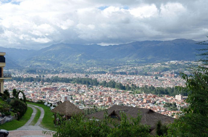 Cuenca, in the valley -- the eastern side