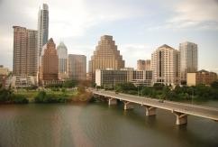 austin, texas, bridge, capitol