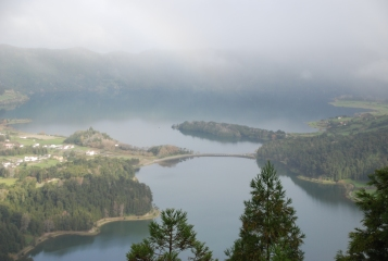 Seven Lakes (Sete Cidades), in the Azores