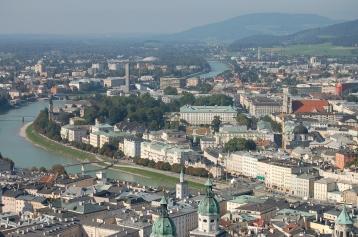 salzburg, austria, castle,