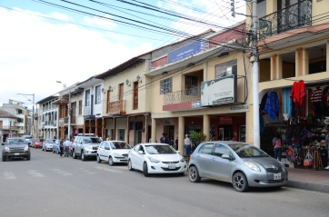 Main shopping area