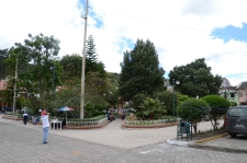 Plaza in the center of town