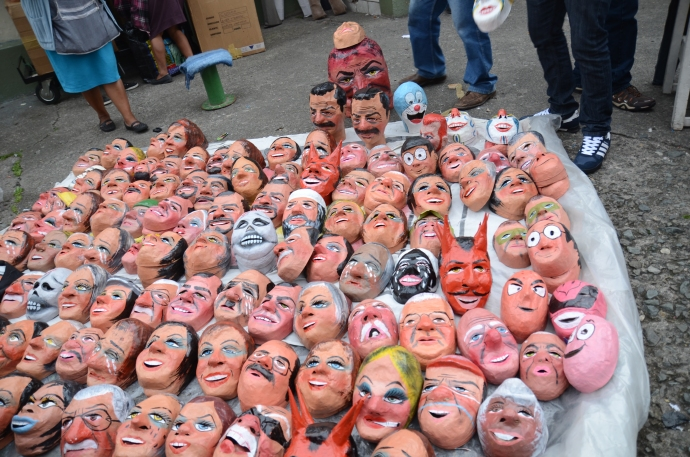 masks, monigotes