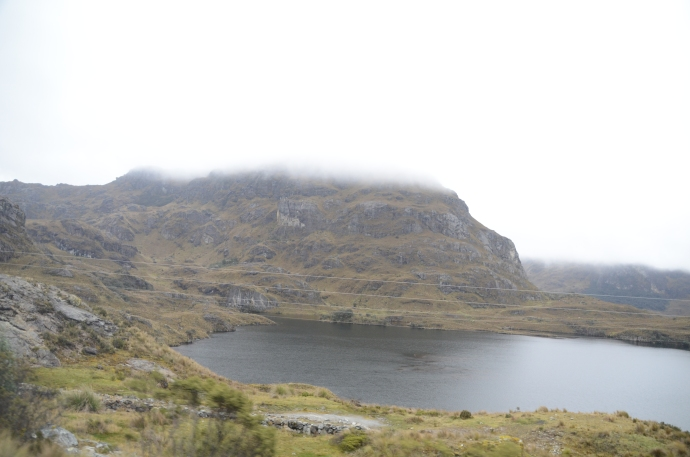 Another lake in the Cajas National Park.