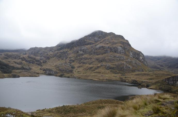 Toreadora Lake, Cajas National Park, Ecuador