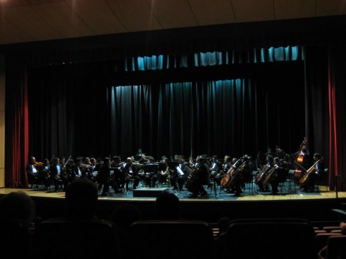 The Orquesta Sinfonica de Cuenca (Cuenca Symphony Orchestra)