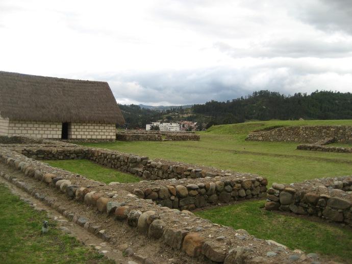 Inca ruins on the upper level of Pumapungo