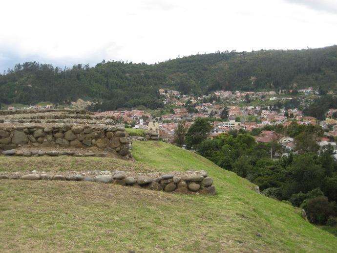 Inca ruins at Pumapungo, in the heart of Cuenca, Ecuador