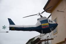 Helicopter monigote