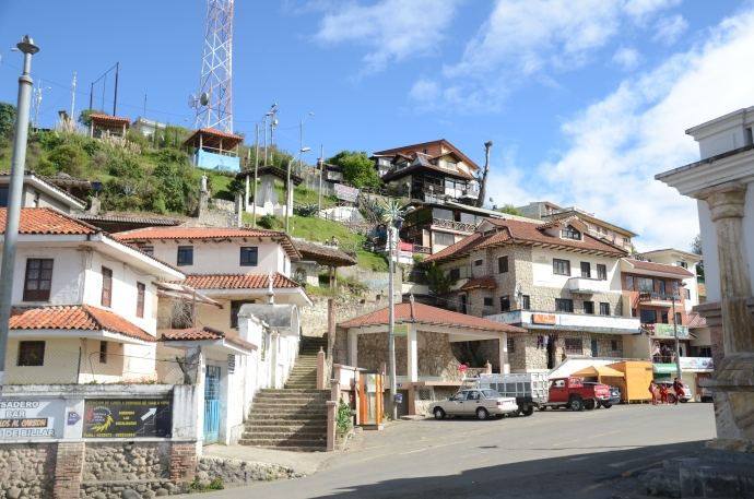 The village at Turi, south of Cuenca