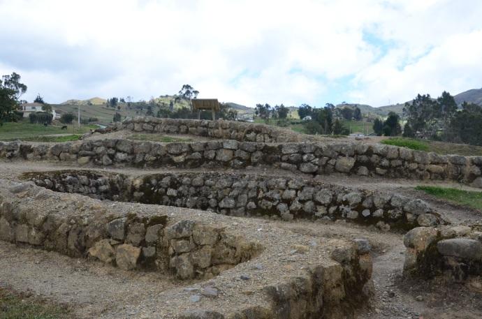 Stonework at Ingapirca, at the residential area