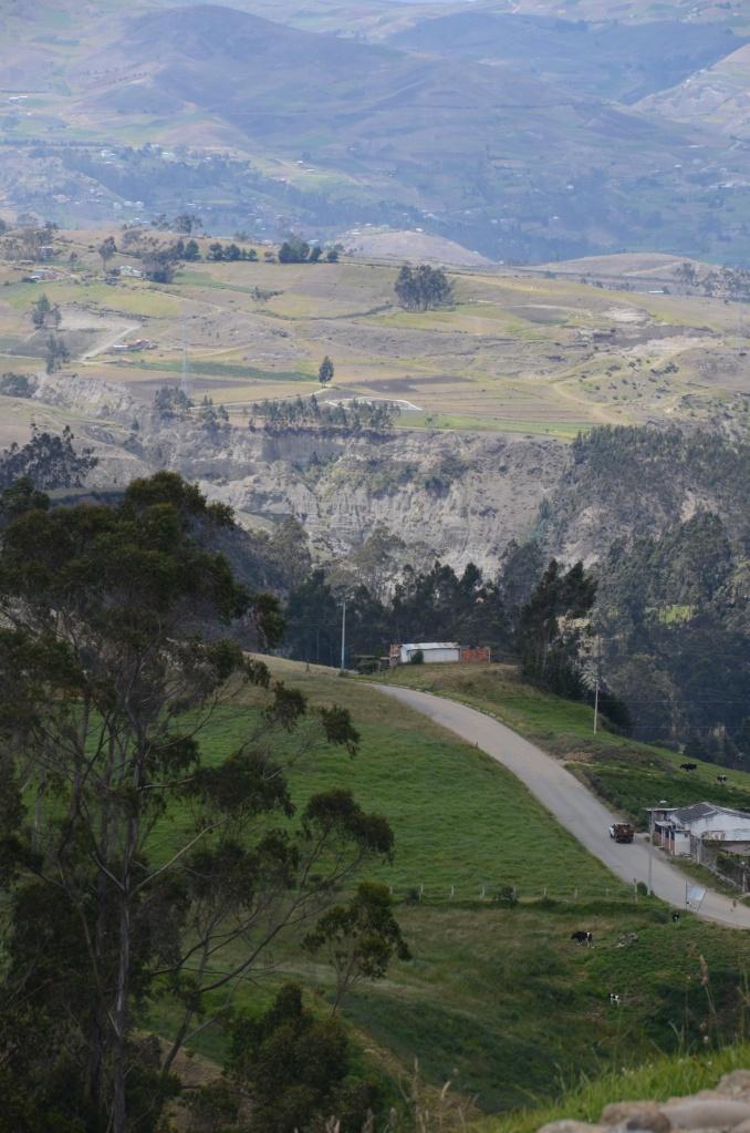View from Ingapirca
