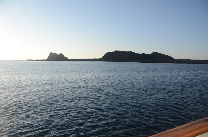 Islands in the early morning sun