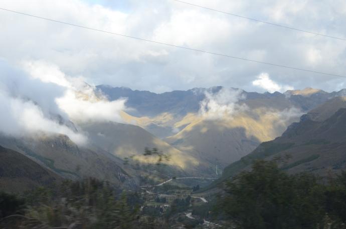 Andean Mountain High in Ecuador